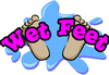 Wet Feet Pools logo